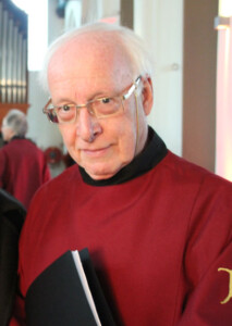 Stan Hollaardt, docent gregoriaans zingen.